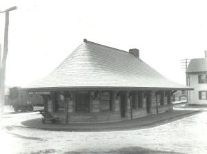 East Brookfield Depot - East Elevation
